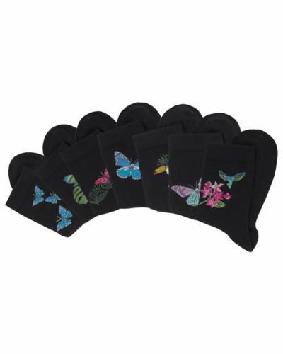 Socken (7 Paar) mischfarben / schwarz