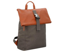 'Punch Casual 93' Rucksack 45 cm cognac / taupe