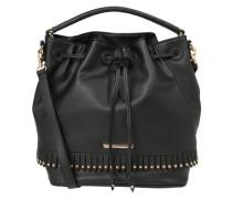 Drawstring Bag schwarz