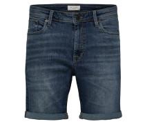 Superstretch Jeansshorts blau