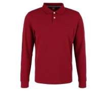 Poloshirt aus Baumwoll-Piqué rot