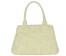 Zoe New York Handtasche 35 cm beige