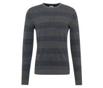 Pullover 'cnk st dnm look' dunkelgrau