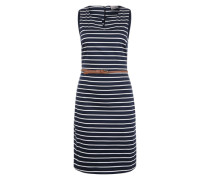 Kleid ohne Ärmel Feminines blau