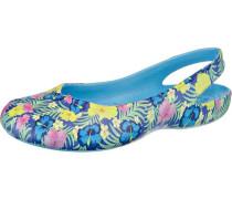 Olivia II Ballerinas blau / gelb / rosa