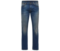 Jeans Straight Fit blue denim