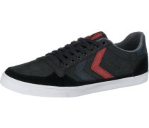 Slimmer Stadil Duo Oiled Low Sneakers schwarz