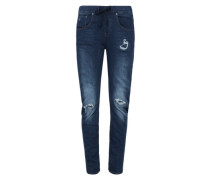 G-Star Boyfriend-Jeans 'Arc 3D Sport Low Boyfriend Wmn' blue denim