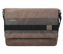 Finchley Messenger Tasche 38 cm braun / grau / schwarz