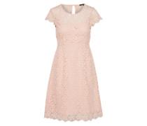 Kleid in Midilänge rosé