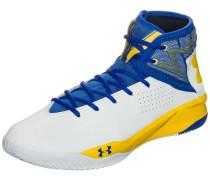 Basketballschuh 'Rocket 2' Herren blau / gelb / weiß