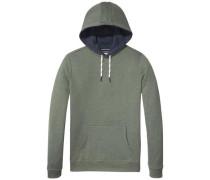 Sweatshirt mit Kapuze hellgrün