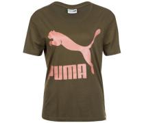 T-Shirt 'archive Logo Tee' oliv
