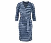 Jerseykleid nachtblau