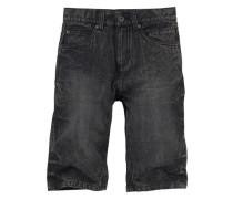 Jeansbermudas für Jungen dunkelgrau