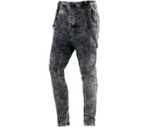 Brad Slim Fit Jeans Herren grau