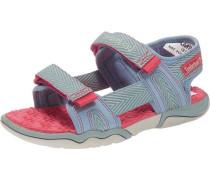 Kinder Sandalen pastellblau / rot