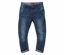 Jeans Loose-fit mit schmalem Bein blau