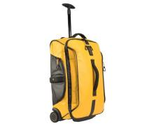 Paradiver Light Rollen-Reisetasche I 55 cm gelb / schwarz