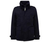Jacket Wollmantel mit Taschen dunkelblau