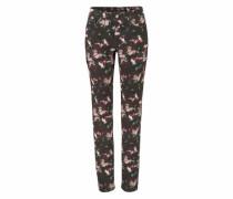 5-Pocket-Jeans »Angela« dunkelbraun
