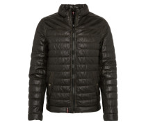 Lederjacke 'Footloose' schwarz