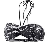 Adella Bikini Oberteil Damen schwarz / weiß