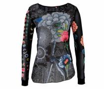 Shirtbluse »Regina« schwarz