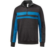 Sweatshirt ' Kenny ' grau / blau