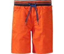 Shorts navy / orange