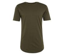 Shirt 'onsMINI AOP Longy Tee' dunkelgrün