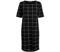 Gemustertes Kleid schwarz / weiß