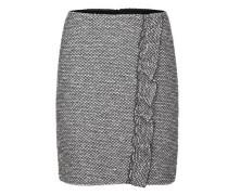 Volantrock in Tweed-Optik