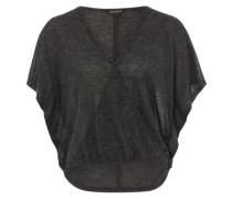 Shirt 'Drapy' grau