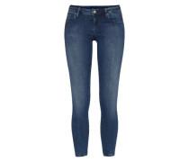 Knackig sitzende Stretch-Jeans 'Lola' blau