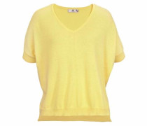 Strickpullover gelb