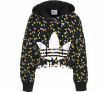 kurzer Pullover mischfarben