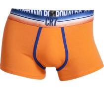 Boxer CR7 Fashion Trunk orange / weiß