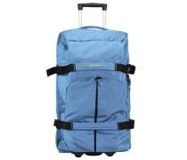 Rewind 2-Rollen Reisetasche 82 cm hellblau / schwarz
