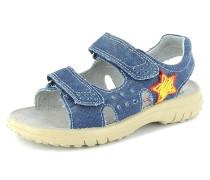 Jungen Sandale Textil blau
