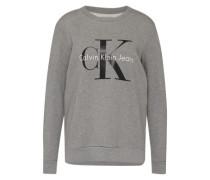 Sweater aus Baumwolle graumeliert
