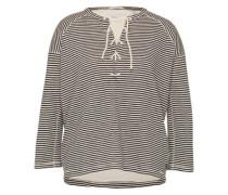 Sweatshirt 'Home Alone' schwarz / weiß