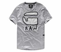 T-Shirt 'Relax Tee' graumeliert