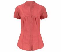 Klassische Bluse rot