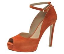 Damen Peeptoe orange