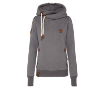 Female Hoody 'Darth X' grau
