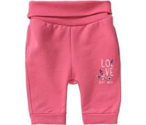 Baby Softbundhose für Mädchen rosa