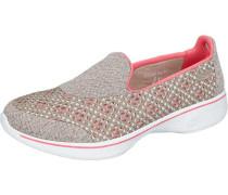 Go Walk 4 Kindle Sneakers grau