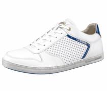 Sneaker »Ebice Perforazione Uomo Low« weiß