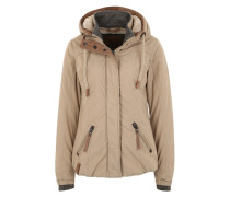 Winterjacke 'Dope Is Hope' beige